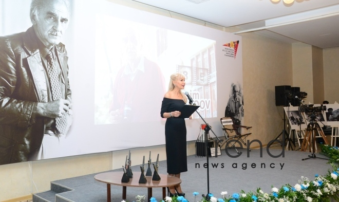Sheki hosts ceremony of awarding winners of film and photo contest in honor of Rasim Ojagov's 85th anniversary. Azerbaijan Sheki 24 november 2018