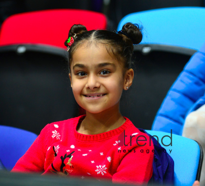 "Amazing show ""Snow White and the Seven Dwarfs"" at Azerbaijan's National Gymnastics Arena. Azerbaijan Baku 23  December 2018"