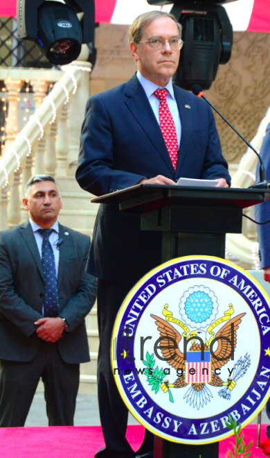 US embassy to Azerbaijan celebrates Independence Day.Azerbaijan, Baku, 5 July 2019