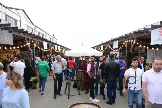 Shamakhi hosts solemn opening ceremony of 1st  Azerbaijan Grape and Wine Festival. Azerbaijan,Shamakhi , august 30 , 2019