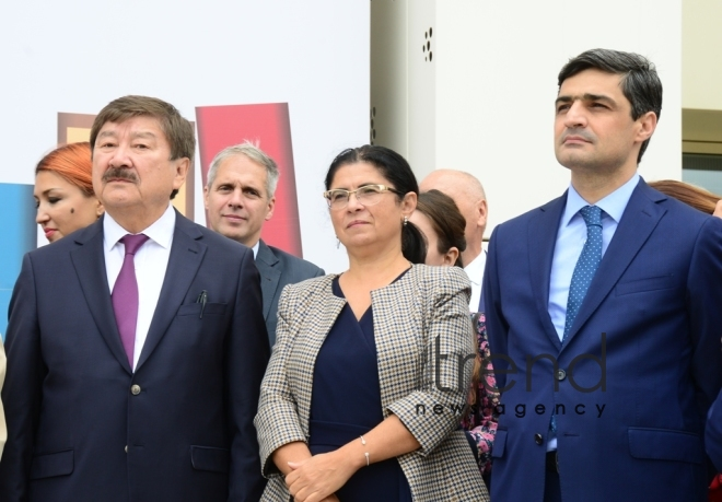6th Baku International Book Fair.Azerbaijan, Baku, September 27  2019.