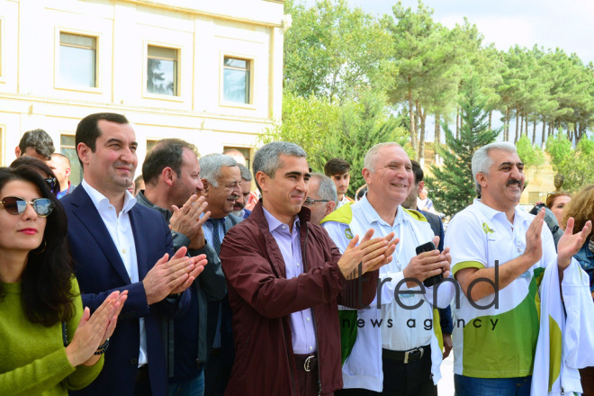A miniature exhibition opened in Shamakhi as part of  Nasimi Festival Azerbaijan, Shamakhi, September 29  2019.