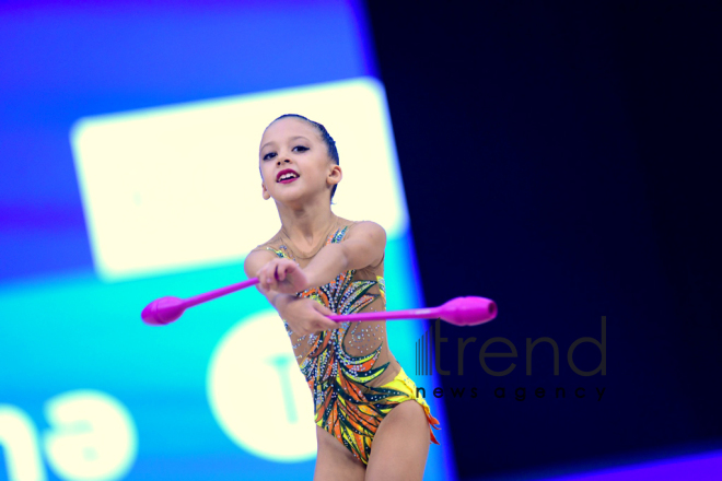 26th Azerbaijan and Baku Rhythmic Gymnastics Championships kicks off in Baku.Azerbaijan, Baku, осtober  10  2019