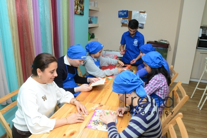 Rehabilitation Center for Children with Autism.Azerbaijan, Baku, 2 november 2019