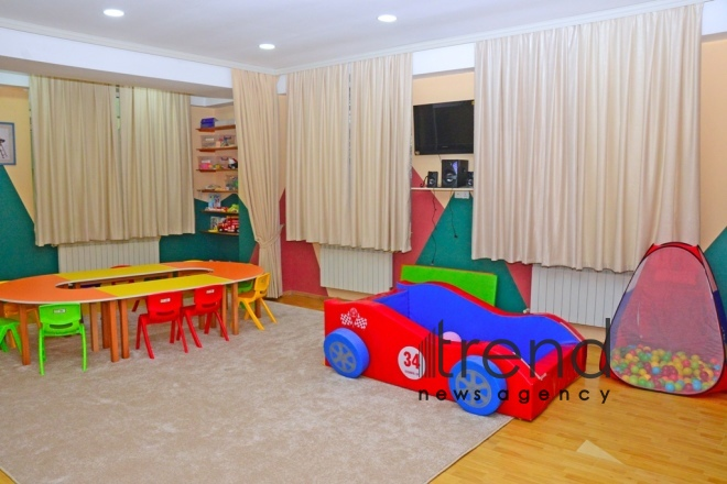 Childrens Psycho-Neurological Center in Baku  Azerbaijan Baku 10 yanuary  2020